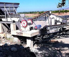 一小时生产200吨的花岗石鄂式破碎机报价