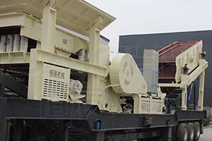 移动式石料破碎机设备的工作特点和优势