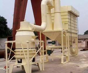 三环磨成功投产新疆大理石制粉生产线
