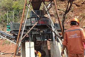 佰辰VSI制砂机在越南正式投入运行